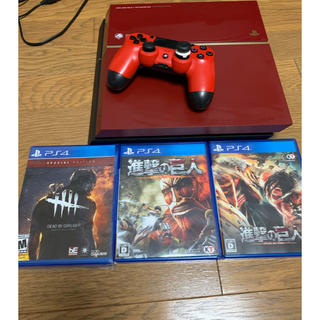 PlayStation4 - ps4 本体500gb ソフトセット 希少