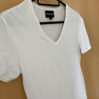 Emporio Armani - アルマーニ Tシャツ ホワイト