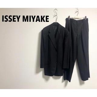 ISSEY MIYAKE - 古着 ISSEY MIYAKE イッセイミヤケ セットアップ ジャケット モード