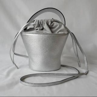 新品未使用★ayako★pottery bag★SILVER エコバッグ大 付き