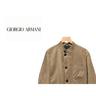 アルマーニ コレツィオーニ(ARMANI COLLEZIONI)のARMANI COLLEZIONI ピーチスキン テーラードジャケット (テーラードジャケット)