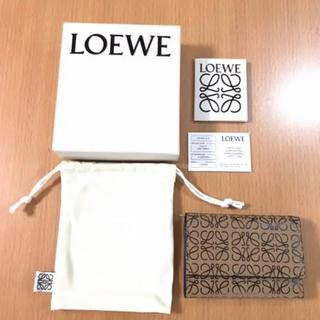 LOEWE - ロエベ  アナグラム  三つ折り財布