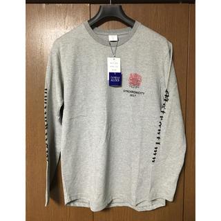メゾンキツネ(MAISON KITSUNE')のミスタージェントルマン Mr.Gentleman xl ロンT 未使用 新品(Tシャツ/カットソー(七分/長袖))
