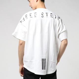 adidas - adidas M MH S/S Tee ホワイト L 3ストライプス