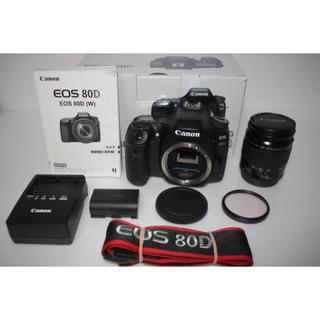 Canon - 極上品★ キャノン Canon EOS 80D 標準レンズセット