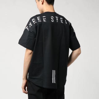 adidas - adidas M MH S/S Tee ブラック L THREE STRIPES