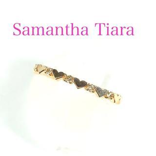サマンサティアラ(Samantha Tiara)のサマンサティアラ K18PG ダイヤ 0.05ct プリティエタニティ リング(リング(指輪))