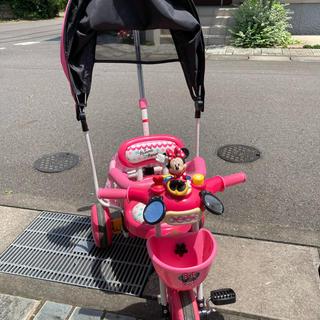 ディズニー(Disney)のDpwls専用 三輪車 ミニーマウス(三輪車)