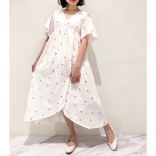 gelato pique - サクラ ロングドレス ワンピース SAKURA 桜◆ジェラートピケ 新品未使用