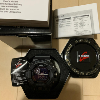値下交渉可 G-SHOCK オールブラックgw 9400 レア 限定 海外モデル(腕時計(デジタル))
