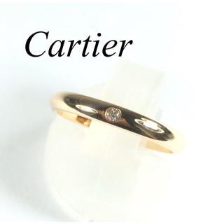 Cartier - カルティエ Cartier K18PG ダイヤ バンド リング ピンクゴールド