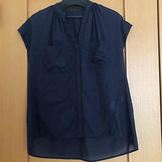ロペ(ROPE)のロペ ROPE  紺色カットソー(カットソー(半袖/袖なし))