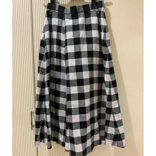 PLST - 定価1万以上【新品タグ付】PLST ギンガムチェック スカート