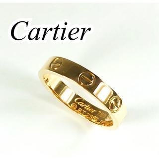 Cartier - カルティエ Cartier K18PG ラブリング 50号 ミニラブ