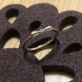ジュピターゴールドレーベル(jupiter GOLD LABEL)の【jupiter】K10ピンキーリング(リング(指輪))