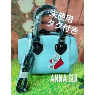 DOLLY GIRL BY ANNA SUI - ANNA SUI☆DOLLY GIRL ハンドバッグ 水色