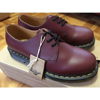 ドクターマーチン(Dr.Martens)のドクターマーチン 1461  UK4 チェリーレッド 3EYE(ローファー/革靴)