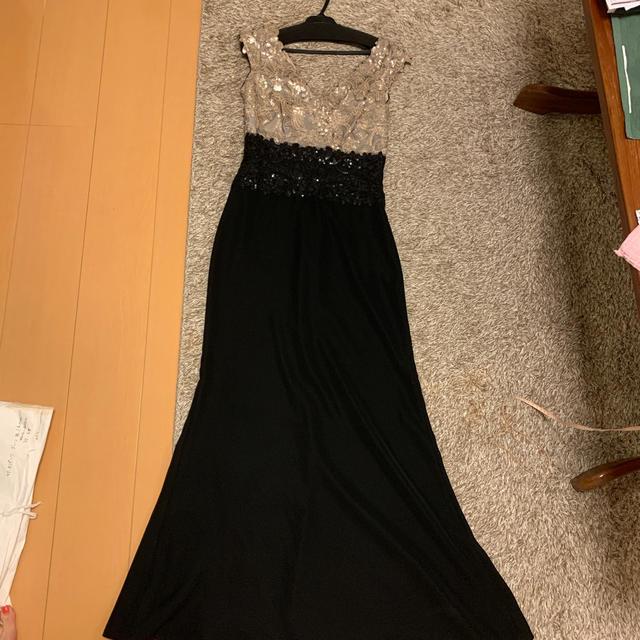 TADASHI SHOJI(タダシショウジ)のTADASHI タダシショージ レース刺繍 ドレス レディースのフォーマル/ドレス(ロングドレス)の商品写真