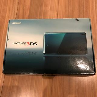 ニンテンドー3DS - Nintendo 3DS 本体 アクアブルー 難あり