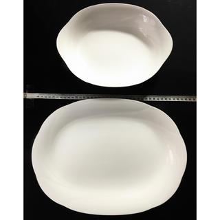 ノリタケ(Noritake)のノリタケ アンサンブルホワイト 大皿 深皿 2枚(食器)