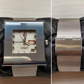 ラドー(RADO)の【アンティーク】ラドー RADO 腕時計 角型 手巻式 (腕時計(アナログ))