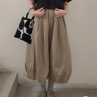 MUJI (無印良品) - 無印良品 バルーンスカート