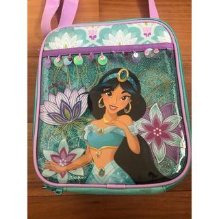 ディズニー(Disney)の数回着用のみ Disney プリンセス ジャスミン アラジンショルダーバッグ (通園バッグ)