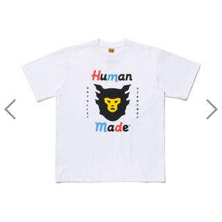 アベイシングエイプ(A BATHING APE)の定価以下!!新作2枚セット HUMAN MADE Tシャツ L(Tシャツ/カットソー(半袖/袖なし))