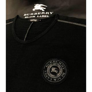 BURBERRY - 五回着用【日本製】バーバリーブラックレーベル 長袖Tシャツ3