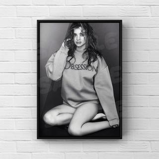 977 ミランダ・カー アートポスター(ファッション)