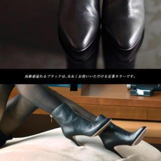 ジミーチュウ(JIMMY CHOO)のSALE★ jimmy choo レザーショートブーツ ブロディ 36 1/2(ブーツ)