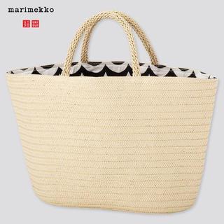 marimekko - マリメッコ UNIQLO 2020ss リバーシブルバッグ ブラック