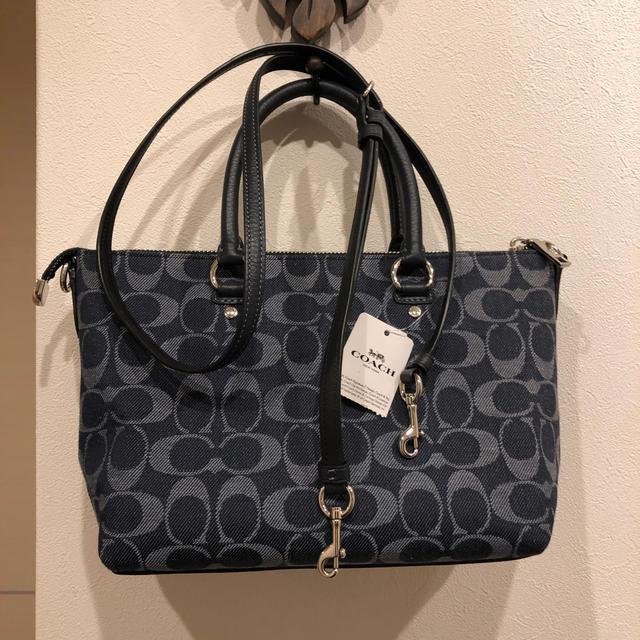 COACH(コーチ)の新品コーチ❣️デニムハンドバック&ショルダーバック レディースのバッグ(ショルダーバッグ)の商品写真