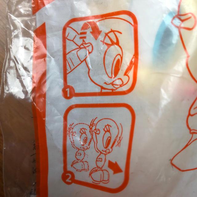マクドナルド(マクドナルド)のトゥィーティ ぜんまいおもちゃ 非売品 ハッピーセット エンタメ/ホビーのコレクション(その他)の商品写真