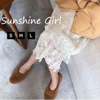 snidel - レース編みタイトスカート