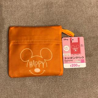 ディズニー(Disney)の新品未使用 ダイソー エコバッグ ディズニー オレンジ(エコバッグ)