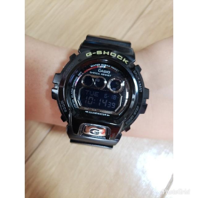 G-SHOCK(ジーショック)のCASIO G-SHOCK カスタム済 黒×シルバー メンズの時計(腕時計(デジタル))の商品写真