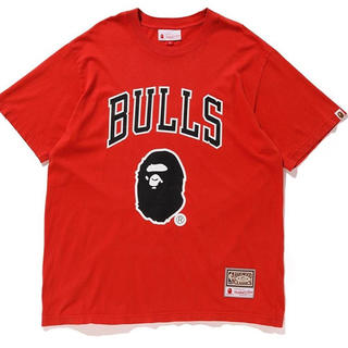 アベイシングエイプ(A BATHING APE)のBULLS BAPE TEE APE サイズ M(Tシャツ/カットソー(半袖/袖なし))