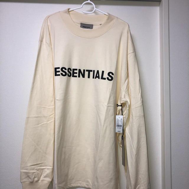 FEAR OF GOD(フィアオブゴッド)のFOG Fear Of God Essentials LS Tシャツ XLサイズ メンズのトップス(Tシャツ/カットソー(七分/長袖))の商品写真