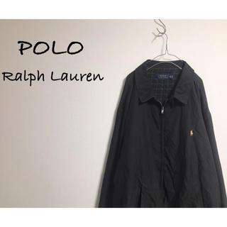 ポロラルフローレン(POLO RALPH LAUREN)の古着 POLO Ralph Lauren ブルゾン ビッグシルエット ブラック(ブルゾン)