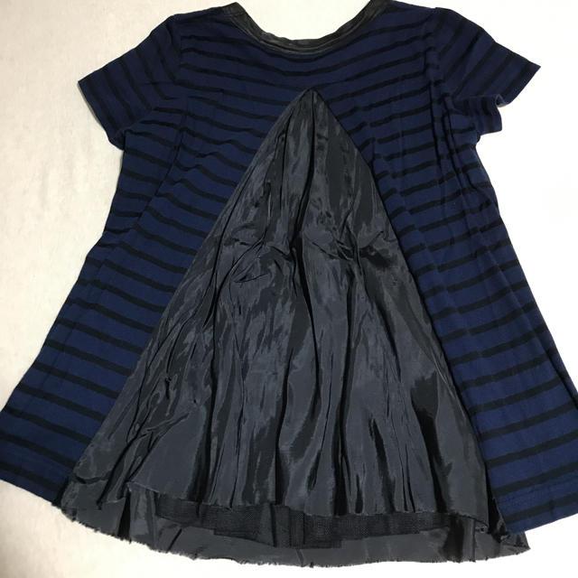 sacai luck(サカイラック)の値下げ⭐︎sacai luck ボーダー Tシャツ レディースのトップス(Tシャツ(半袖/袖なし))の商品写真