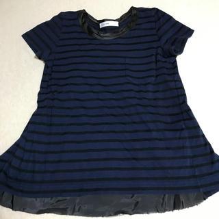 サカイラック(sacai luck)の値下げ⭐︎sacai luck ボーダー Tシャツ(Tシャツ(半袖/袖なし))