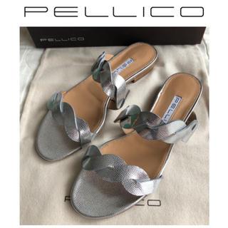 ペリーコ(PELLICO)のPELLICO ペリーコ DOUBLE TWIST サンダル 新品 23(サンダル)