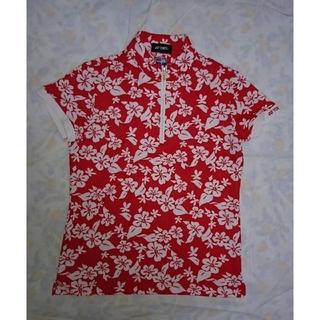 ヨネックス(YONEX)のYONEX・レディース・ジップアップ・シャツS(Tシャツ(半袖/袖なし))