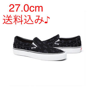 Supreme - Supreme®/Vans® Hole Punch Denim Slip-On
