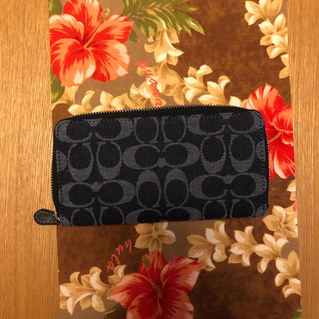 COACH(コーチ)の新品 コーチ財布デニム メンズのファッション小物(長財布)の商品写真