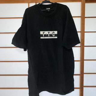 エフティーシー(FTC)のFTC Tシャツ ブラック Lサイズ(Tシャツ/カットソー(半袖/袖なし))