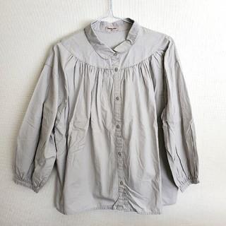 SM2 - 【652】サマンサモスモス◇SM2◇ライトグレーゆったりブラウス 長袖