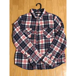 チェックシャツ レディース M(シャツ/ブラウス(長袖/七分))