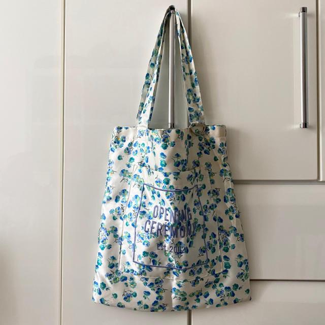 OPENING CEREMONY(オープニングセレモニー)のオープニングセレモニー 花柄 トートバッグ レディースのバッグ(トートバッグ)の商品写真